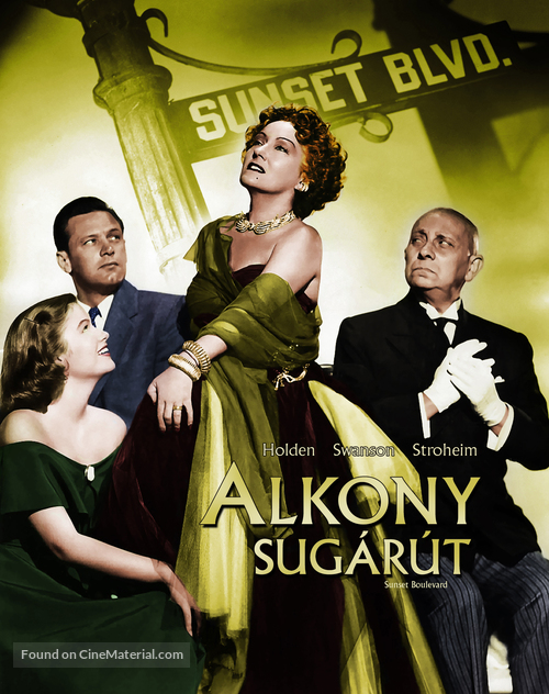 Sunset Blvd. - Hungarian Movie Cover