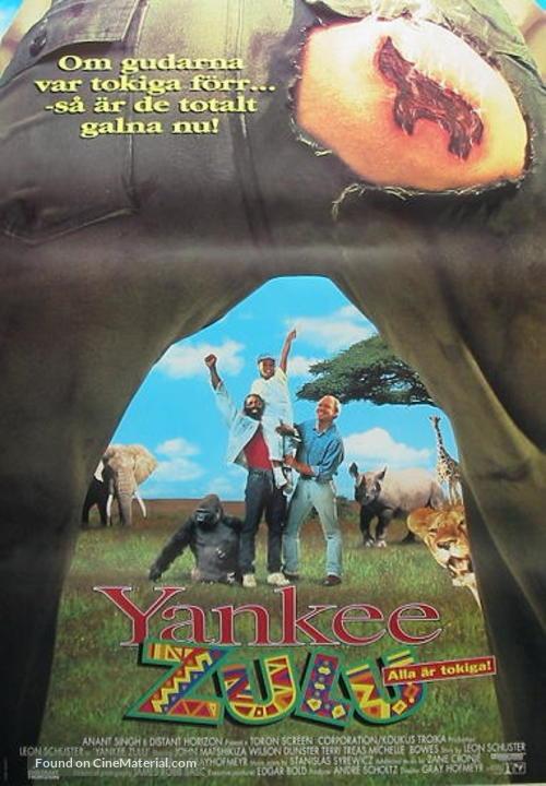 Yankee Zulu Swedish Movie Poster