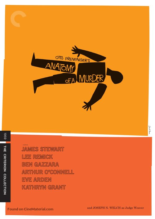 Anatomy of a Murder - DVD cover