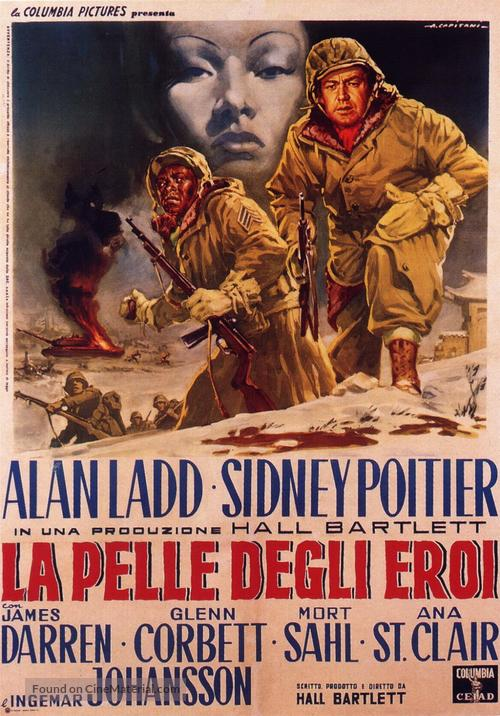 All the Young Men - Italian Movie Poster