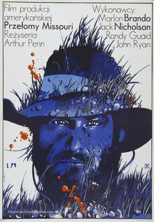 The Missouri Breaks - Polish Movie Poster