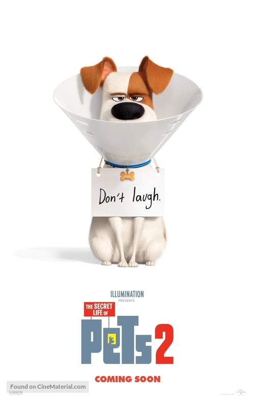 The Secret Life of Pets 2 - British Movie Poster