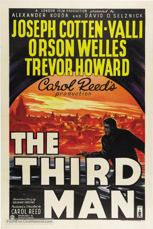 The Third Man - British Movie Poster
