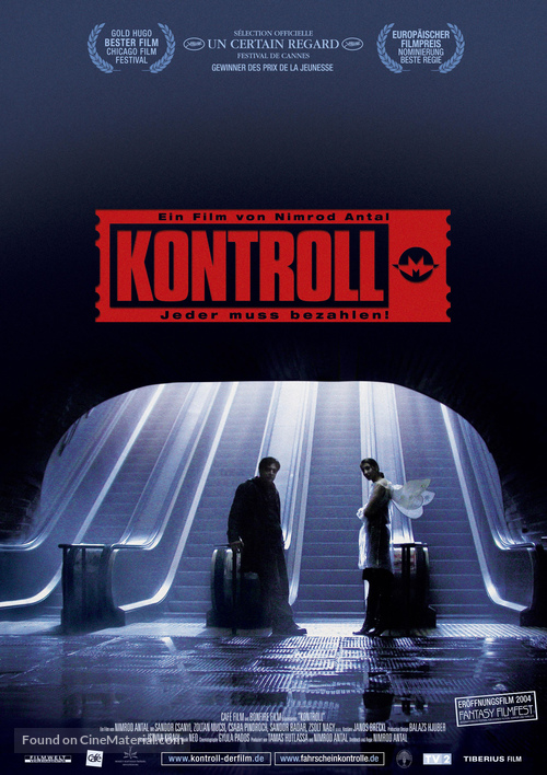 Kontroll - German Movie Poster