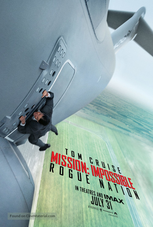 Mission: Impossible - Rogue Nation - Teaser poster