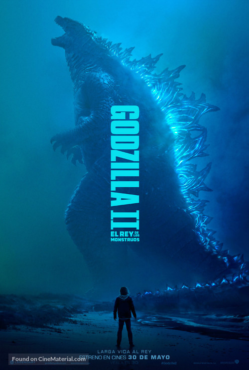 Godzilla: King of the Monsters - Chilean Movie Poster