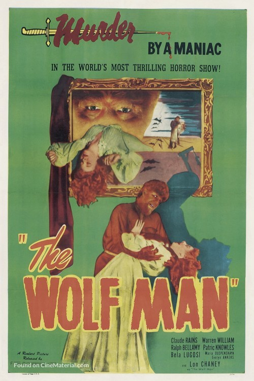 The Wolf Man - Movie Poster