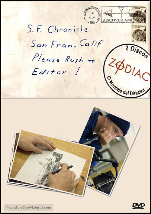 Zodiac - Spanish DVD cover