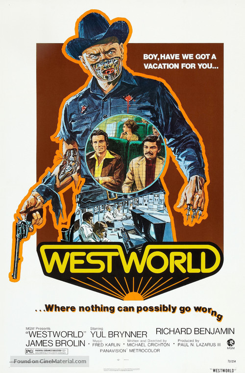 Westworld - Theatrical poster