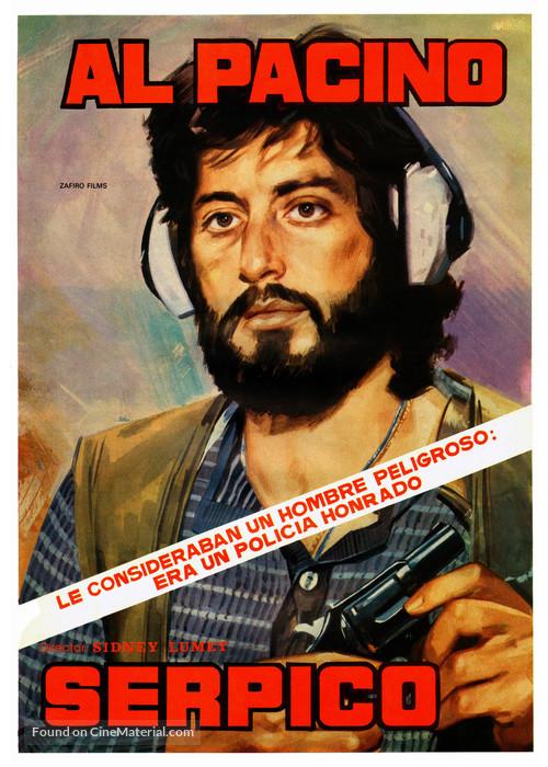 Serpico - Spanish Movie Poster