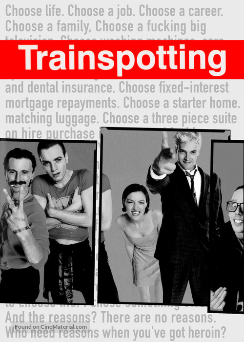 Trainspotting - Movie Poster
