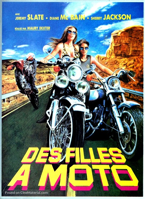 The Mini-Skirt Mob - French Movie Poster