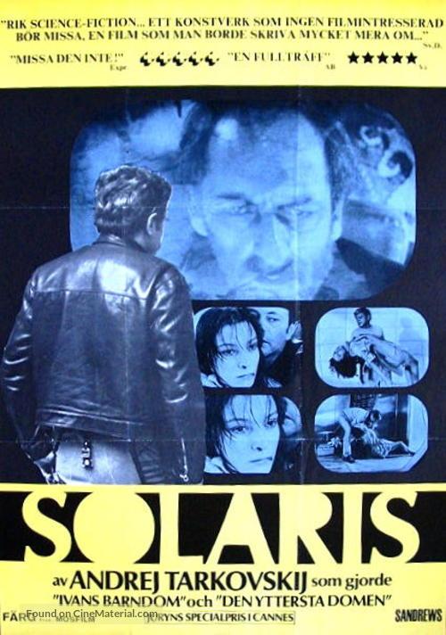 Solyaris - Swedish Movie Poster