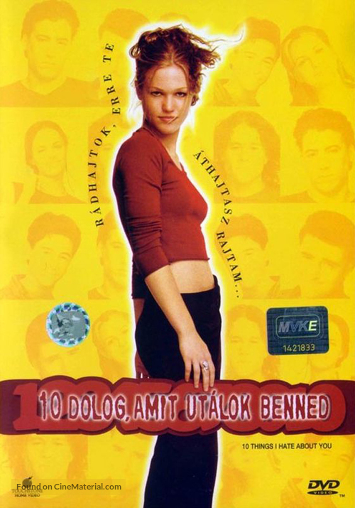 10 Things I Hate About You - Hungarian Movie Cover