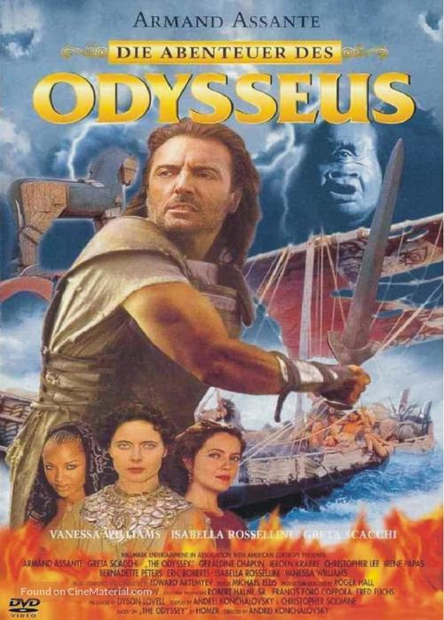 """The Odyssey"" - German DVD movie cover"