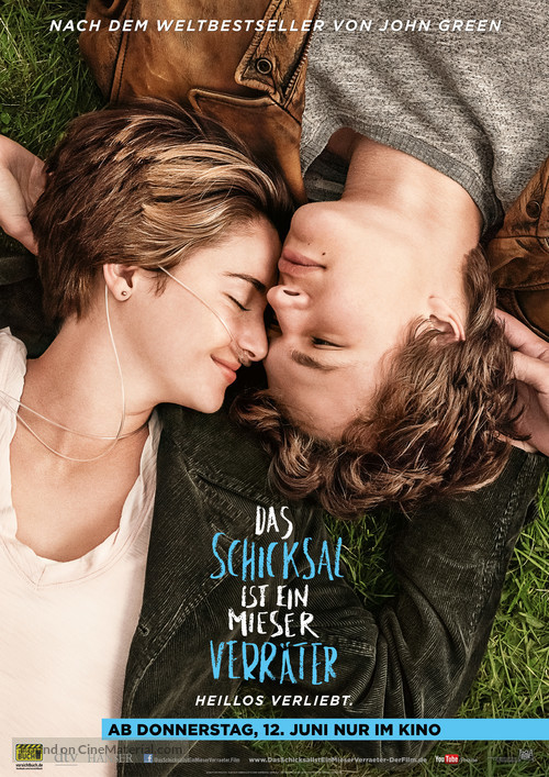 The Fault in Our Stars - German Movie Poster