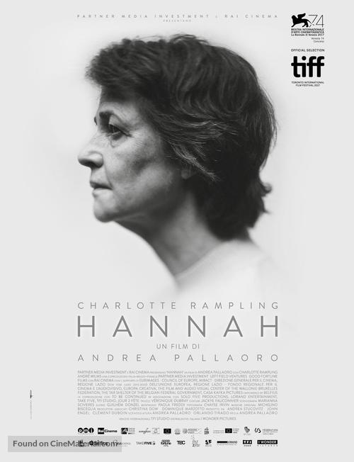 Hannah - Italian Movie Poster