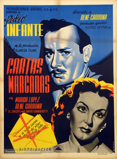 Cartas marcadas - Mexican Movie Poster