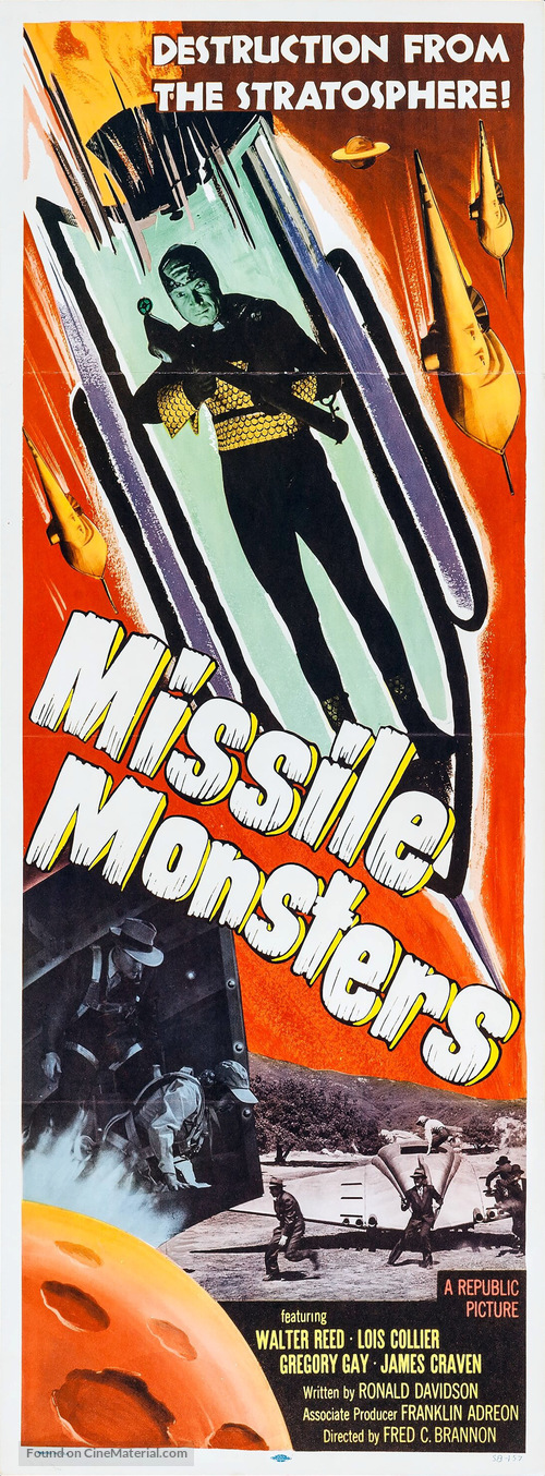Missile Monsters - Movie Poster