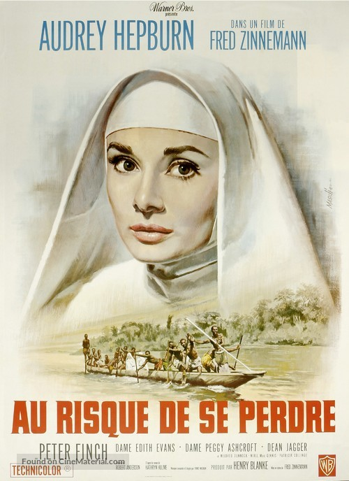 The Nun's Story - French Movie Poster