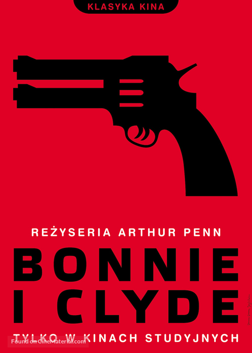Bonnie and Clyde - Polish Movie Poster