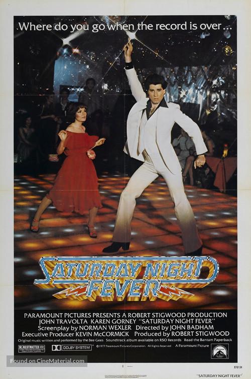Saturday Night Fever - Movie Poster