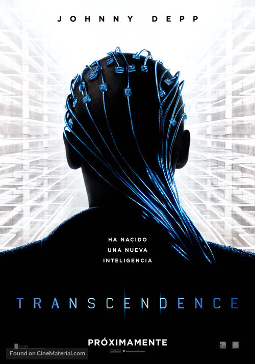 Transcendence - Spanish Movie Poster