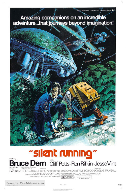 Silent Running - Movie Poster