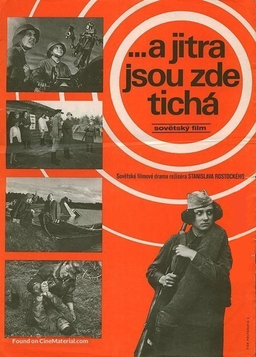 A zori zdes tikhie - Czech Movie Poster