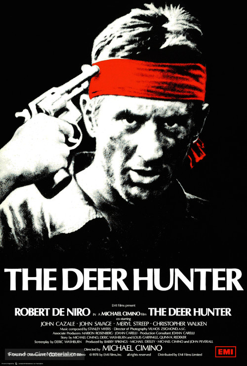 The Deer Hunter - British Movie Poster