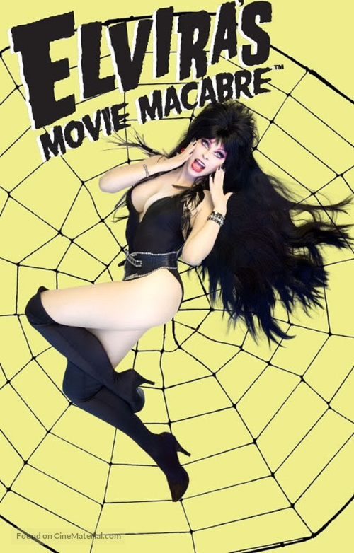 """Elvira's Movie Macabre"" - VHS cover"