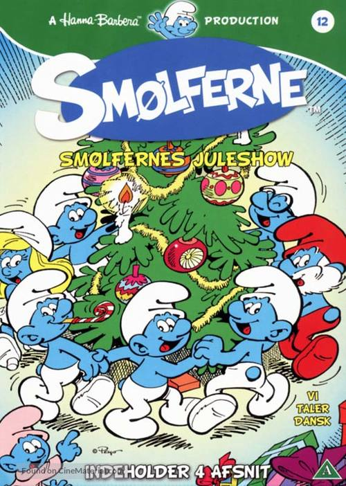 """Smurfs"" - Danish DVD cover"