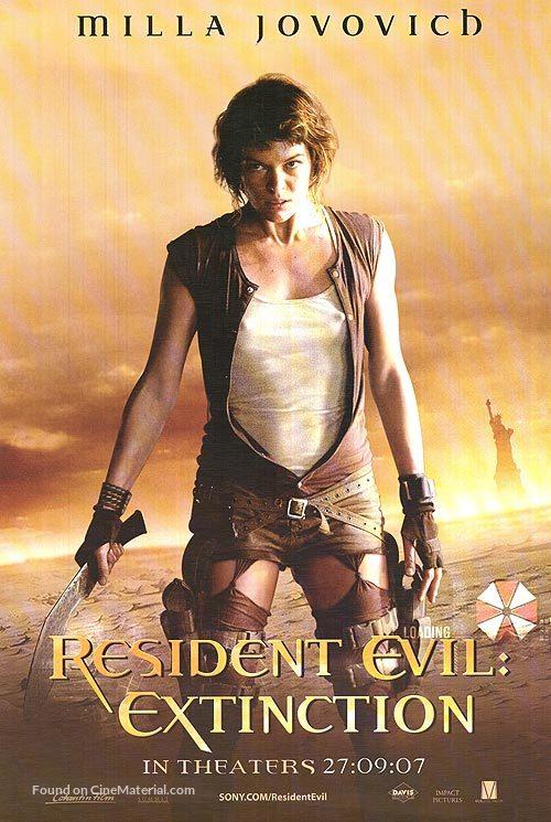 Resident Evil: Extinction - Thai Movie Poster
