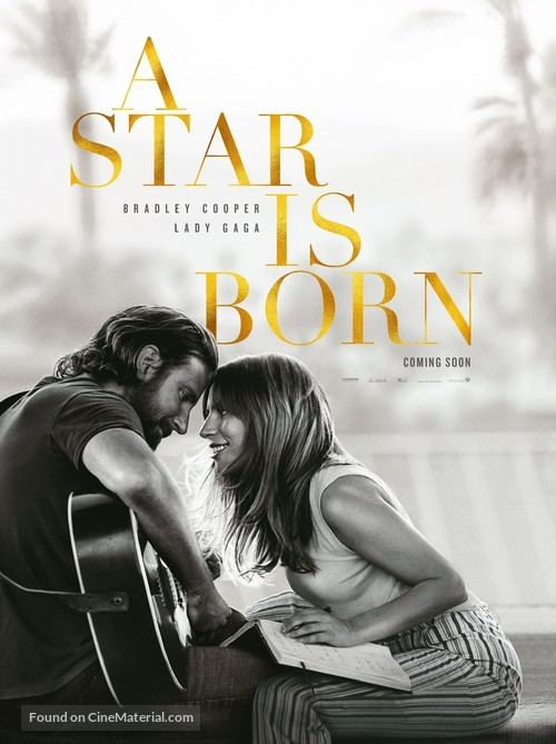 A Star Is Born - German Movie Poster