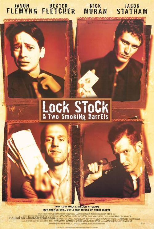Lock Stock And Two Smoking Barrels - Movie Poster
