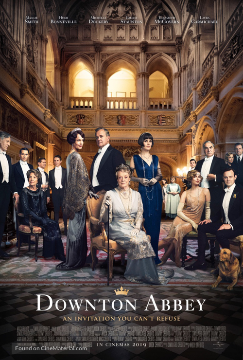 Downton Abbey - British poster