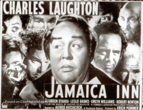 Jamaica Inn - British poster