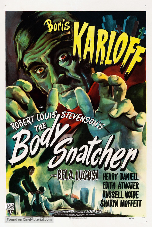 The Body Snatcher - Movie Poster