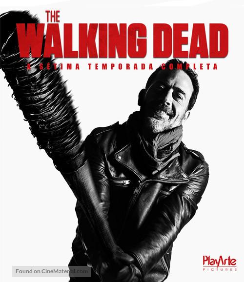 """The Walking Dead"" - Brazilian Movie Cover"