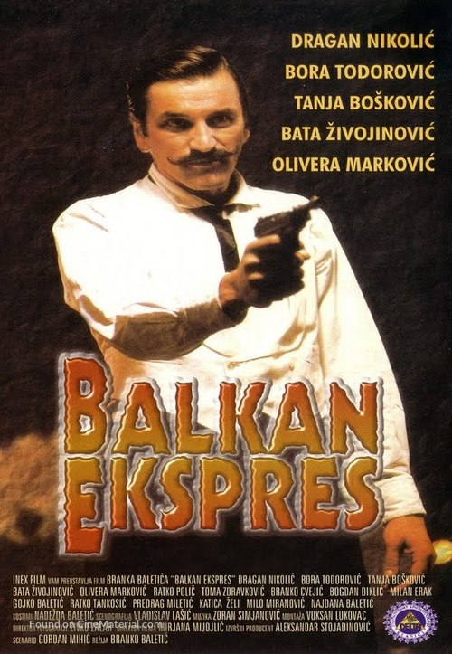 Balkan ekspres - Yugoslav Movie Poster