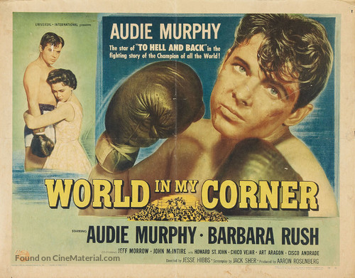 World in My Corner - Movie Poster