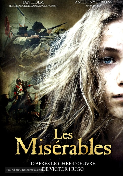 Les Miserables (1978) French movie cover