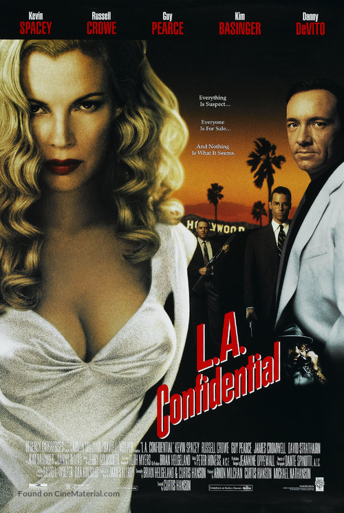 L.A. Confidential - Video release movie poster