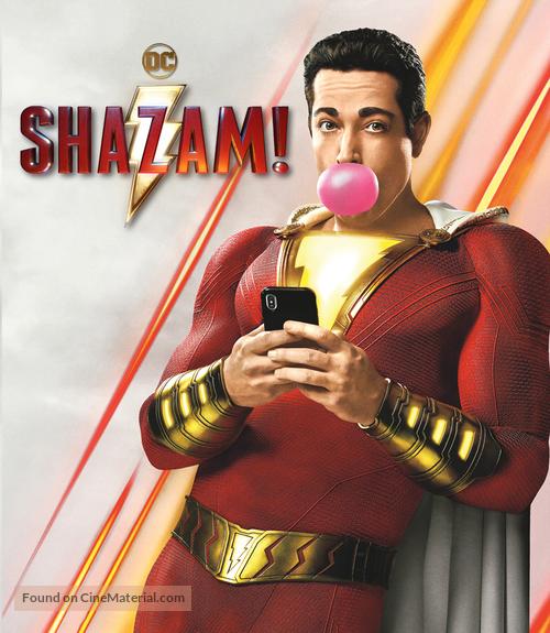 Shazam! - Brazilian Movie Cover