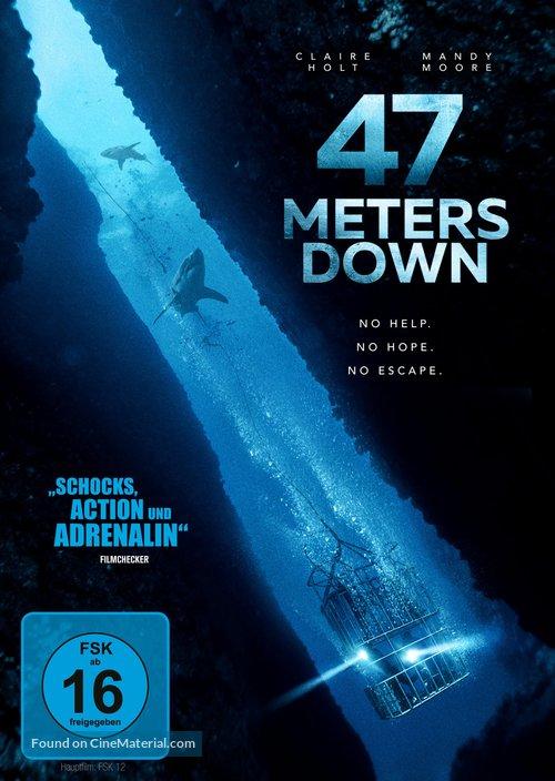 47 Meters Down - German DVD movie cover