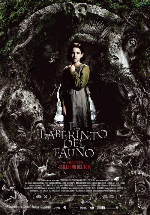 El laberinto del fauno - Spanish Movie Poster