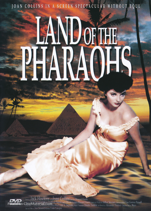 Land of the Pharaohs - DVD movie cover