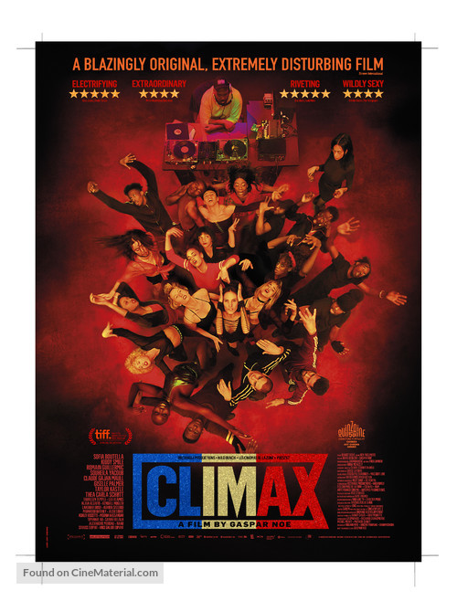 Look Out Lars Von Trier because Gaspar NOe's 'Climax' is coming for you!