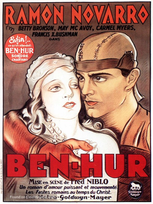 Ben-Hur - French Movie Poster