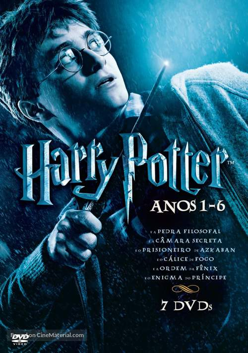 Harry Potter and the Sorcerer's Stone - Brazilian DVD cover